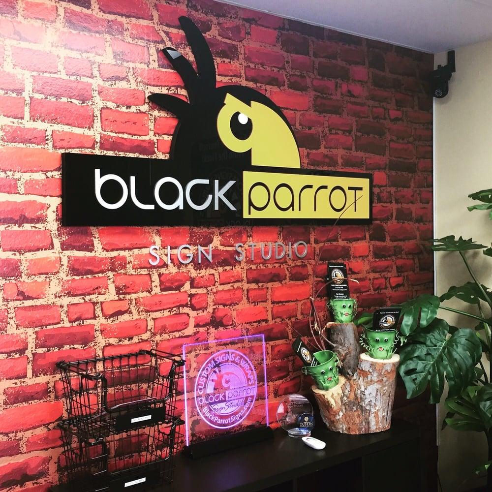 Black Parrot Sign Studio Customer Review