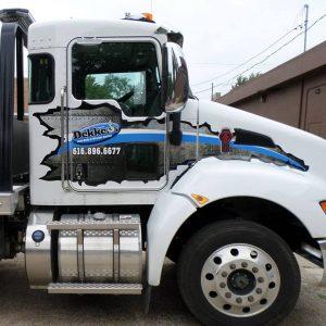custom commercial truck graphics