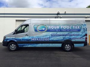 attractive custom van wrap